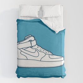 #13 Nike Airforce 1 Duvet Cover