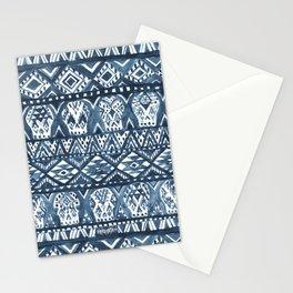 Indigo AZTECHIE Aztec Skull Print Stationery Cards