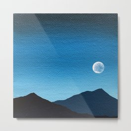 Blue Moon II Metal Print