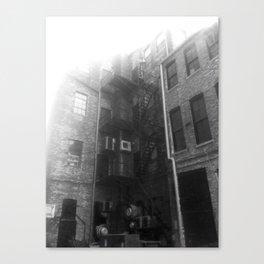 Fire Escape (Sunny) Canvas Print