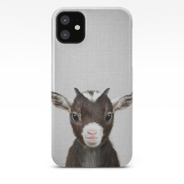 Baby Goat - Colorful iPhone Case
