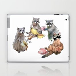 Racoon Tea Party Laptop & iPad Skin