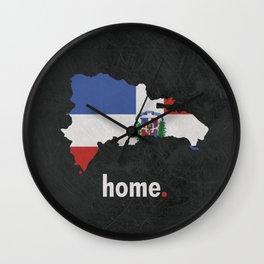 Dominican Republic Proud Wall Clock