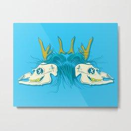 Dead Deer.  Metal Print