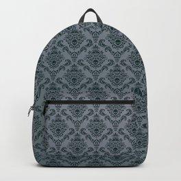 Pirate Damask Pattern Backpack
