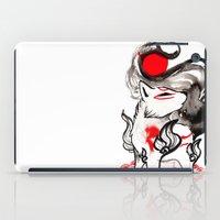 okami iPad Cases featuring Chibi Amaterasu Okami II by Rubis Firenos