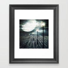 Owl Light Framed Art Print