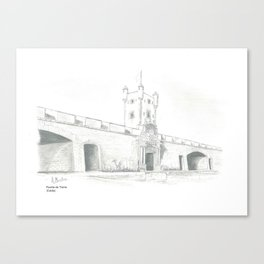 Puerta Tierra Canvas Print