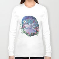 marie antoinette Long Sleeve T-shirts featuring Marie Antoinette by FantaFumino