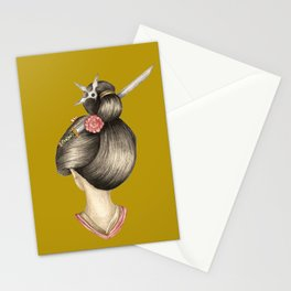 Dragon Girl Stationery Cards