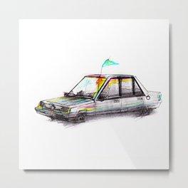 Car No. 1 Metal Print