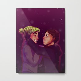 winter Coliver Metal Print