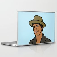 bruno mars Laptop & iPad Skins featuring Bruno Mars by agr_artwork