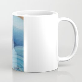 Wooden Wave Scape Coffee Mug