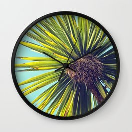 Tropical Shade Wall Clock