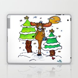 """Henry The Holiday Moose"" Laptop & iPad Skin"