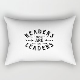 Readers are Leaders Rectangular Pillow