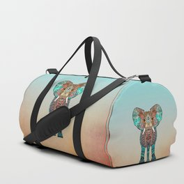BOHO SUMMER ELEPHANT Duffle Bag
