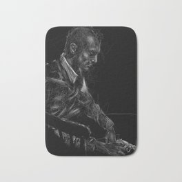 """I got some bad ideas in my head."" - Travis Bickle Bath Mat"