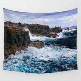 Ocean Power Wall Tapestry