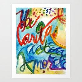 Ubi Caritas Art Print
