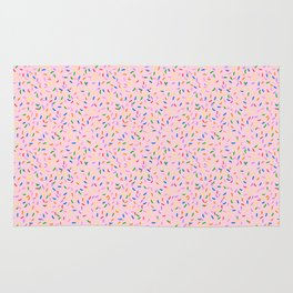 Strawberry frosted sprinkles Rug