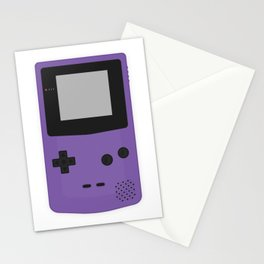 Gameboy Colour Purple Stationery Cards