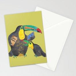 Multitasking Toucan Mom Stationery Cards