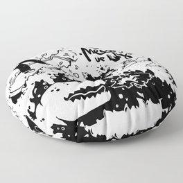 Messing up Floor Pillow
