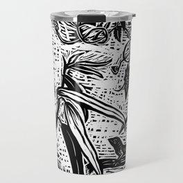 Botanical Collage Travel Mug