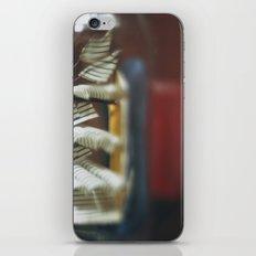 Teal iPhone & iPod Skin
