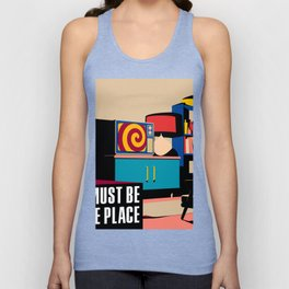 Talking Heads - This Must Be The Place Unisex Tanktop