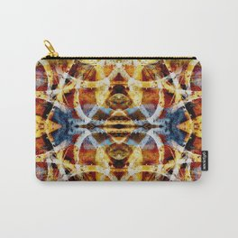 Abstract graffiti pattern Carry-All Pouch
