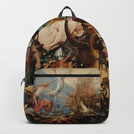 Pieter Bruegel the Elder The Fall of the Rebel Angels Backpack