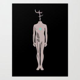 du coeur Art Print