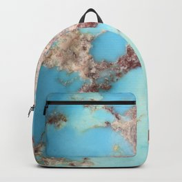 Rugged Turquoise Nugget Backpack
