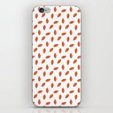 Orange Leaves iPhone & iPod Skin