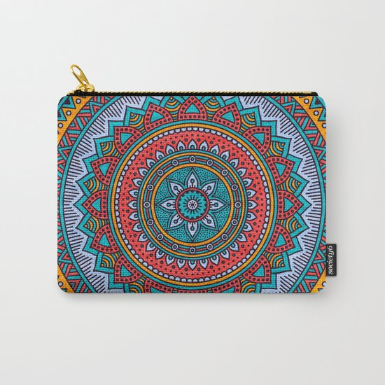 Hippie mandala 32 Carry-All Pouch
