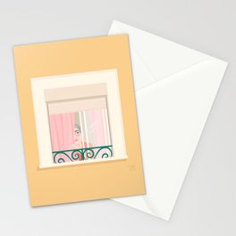 Somebody's watching me Stationery Cards