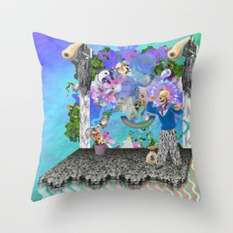 IDEATH Throw Pillow