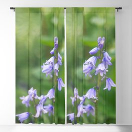 Bluebells - Flower Photography Blackout Curtain