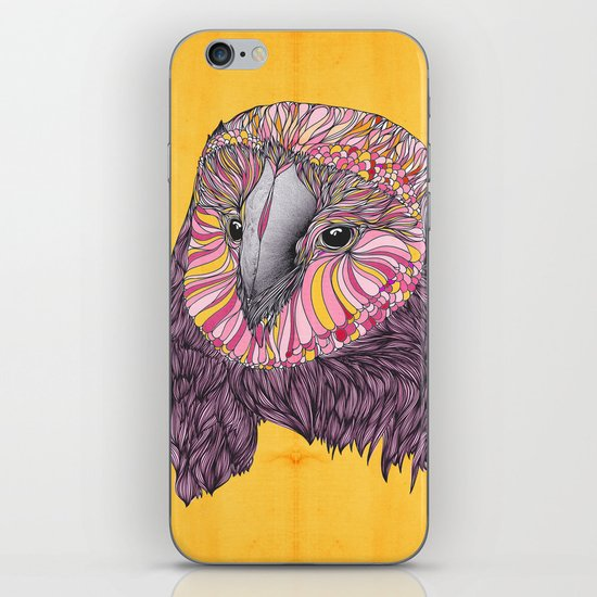 Lovely Owl (Feat. Bryan Gallardo) iPhone & iPod Skin