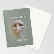 I Had Fun Once.... Stationery Cards