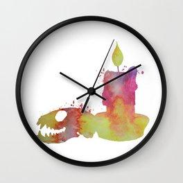 Ferret Skull Wall Clock