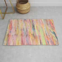 Color gradient and texture 42 Rug
