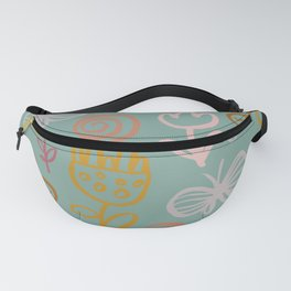 Bee with Flowers Fanny Pack