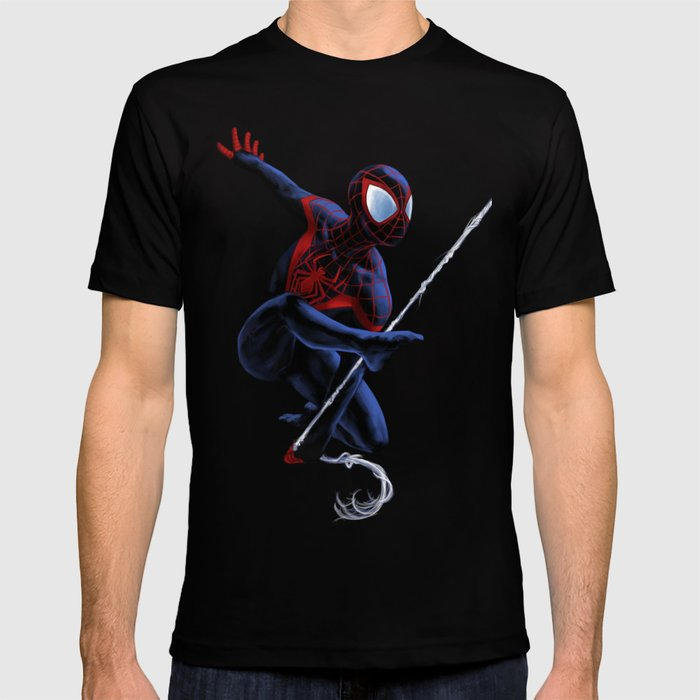 7bd40616cb0 Miles Morales - Spider-Man T-shirt by weaverofnight