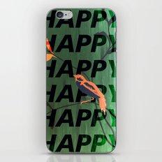 Happy Happy Happy iPhone & iPod Skin