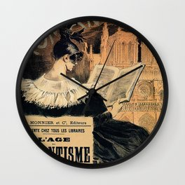 The Age of Romantism Wall Clock