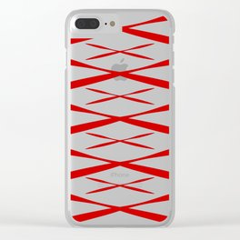 Xmas Clear iPhone Case